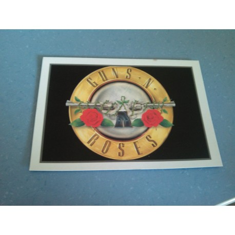 Carte Postale de Star - People - Logo - Guns N Roses.