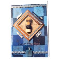 Carte postale neuve avec enveloppe fête des pères (lot 12.08)