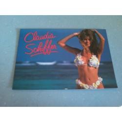 Carte Postale de Star - People - Claudia Schiffer collection neuve