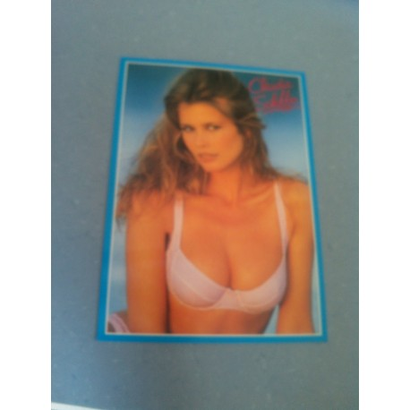 Carte Postale de Star - People - Claudia Schiffer - Verticale.