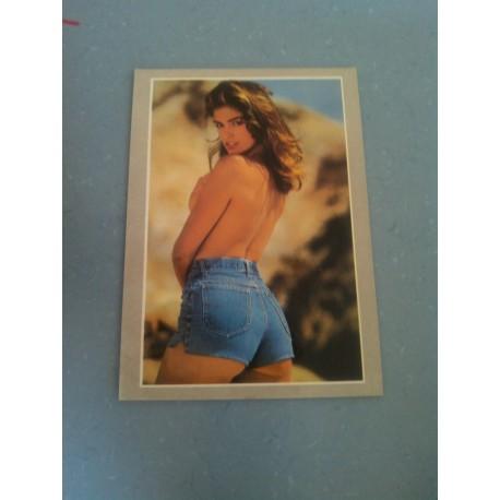 Carte Postale de Star - People - Claudia Schiffer - De dos.
