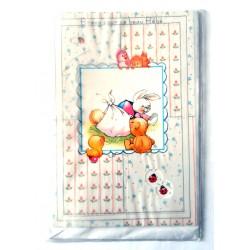 Carte postale neuve avec enveloppe naissance baptême félicitation (lot 06)