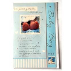Carte postale neuve avec enveloppe naissance baptême félicitation (lot 11.16)