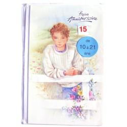 Carte postale neuve avec enveloppe joyeux anniversaire enfant ados multi ages ( lot 78.12)