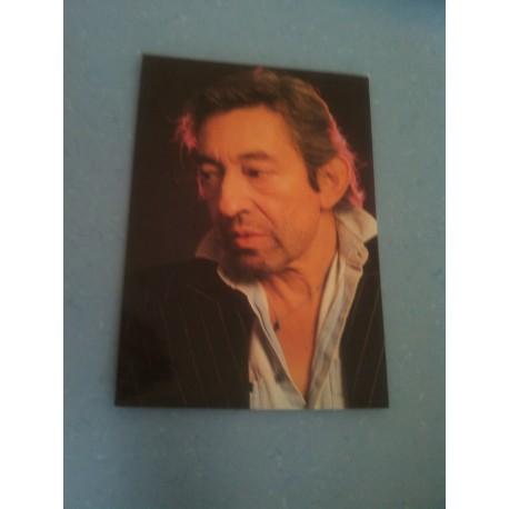 Carte Postale de Star - People - Serge Gainsbourg.