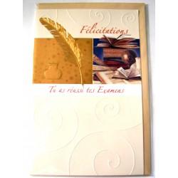 Carte postale neuve avec enveloppe félicitation ( lot 09)