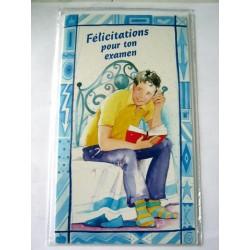 Carte postale neuve avec enveloppe félicitation ( lot 12.01)