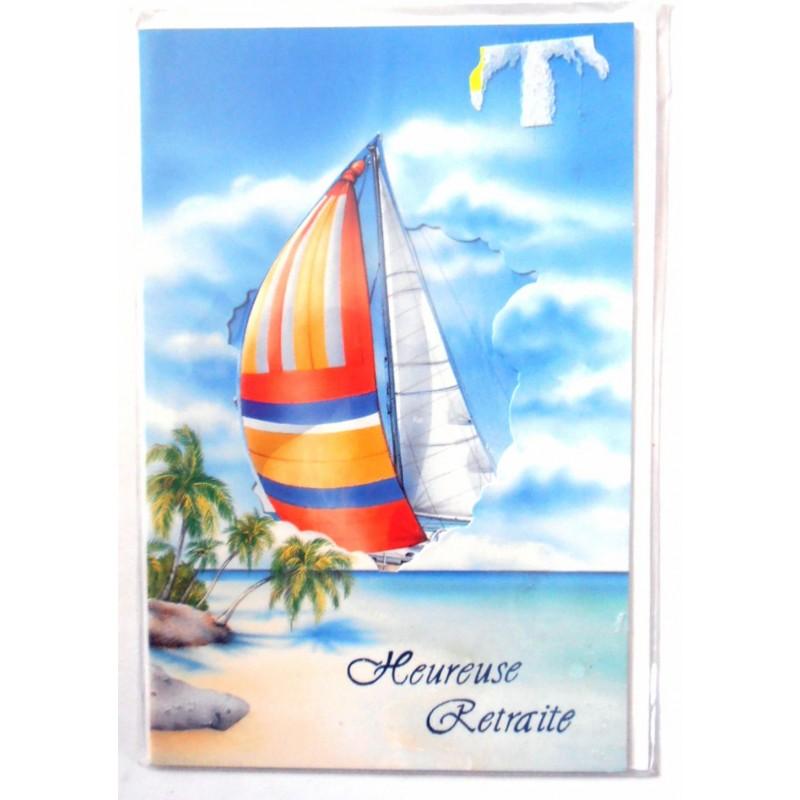 Carte postale neuve avec enveloppe retraite départ ( lot 10.03) - Amzalan.com