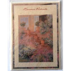 Carte postale neuve avec enveloppe retraite départ ( lot 24.05)