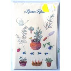 Carte postale neuve avec enveloppe retraite départ ( lot 29 )