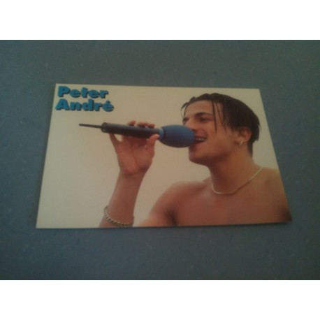 Carte Postale de Star - People - Peter André - Horizontale