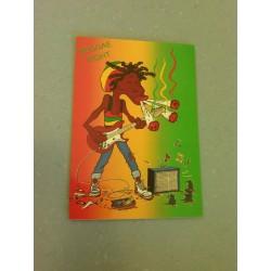 Carte Postale Humour- Rasta - Reggae Night collection neuve