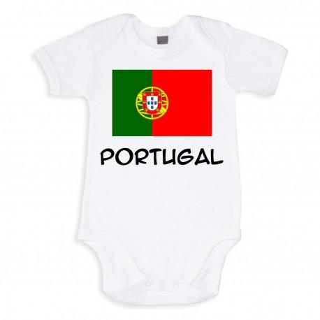 TRANSFERT TEXTILE VETEMENT BODY T SHIRT ENFANT SUPPORTER PORTUGAL V28 NEUF