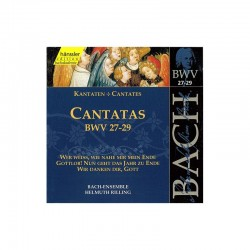 CD MUSIQUE CLASSIQUE cantatas bwv 14, 16-18