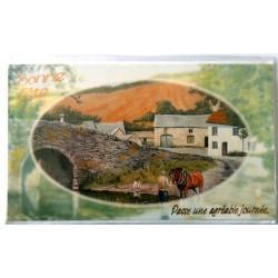 Carte postale neuve avec enveloppe bonne fête (19.01)