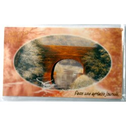 Carte postale neuve avec enveloppe bonne fête (19.02)
