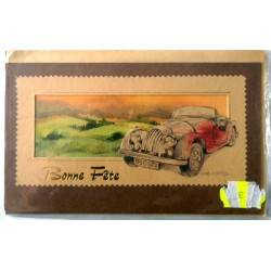 Carte postale neuve avec enveloppe bonne fête (19.03)