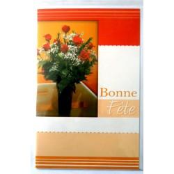 Carte postale neuve avec enveloppe bonne fête (lot 26.01)