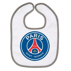 TRANSFERT TEXTILE BAVOIR BEBE SUPPORTER FOOT PSG PARIS ST GERMAIN V38 IDEE CADEAU NAISSANCE NEUF
