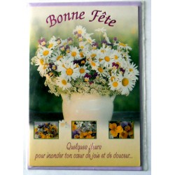 Carte postale neuve avec enveloppe bonne fête (lot 29.04)