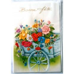 Carte postale neuve avec enveloppe bonne fête (lot 30.04)