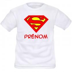 TRANSFERT TEXTILE T-SHIRT ENFANT PERSONNALISABLE SUPERMAN NEUF