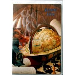 Carte postale neuve avec enveloppe bonne fête (02.05)