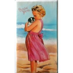 Carte postale neuve avec enveloppe bonne fête (02.06)