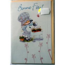 Carte postale neuve avec enveloppe bonne fête (02.07)