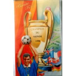 Carte postale neuve avec enveloppe bonne fête 1998 (lot 06.05)