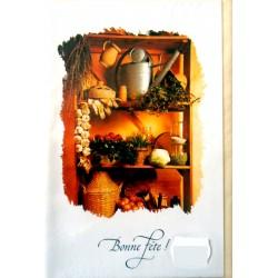 Carte postale neuve avec enveloppe bonne fête (07.04)
