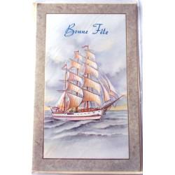 Carte postale neuve avec enveloppe bonne fête (08.07)