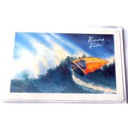 Carte postale neuve avec enveloppe bonne fête (lot 09.03)