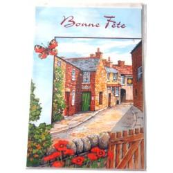 Carte postale neuve avec enveloppe bonne fête (09.07)