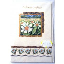 Carte postale neuve avec enveloppe bonne fête (18.05)