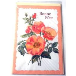 Carte postale neuve avec enveloppe bonne fête (19.05)