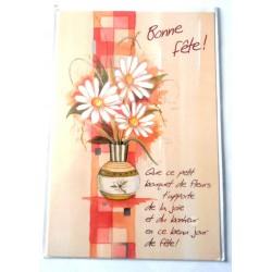 Carte postale neuve avec enveloppe bonne fête (20.06)