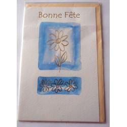 Carte postale neuve avec enveloppe bonne fête (21.01)