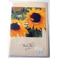 Carte postale neuve avec enveloppe bonne fête (21.07)