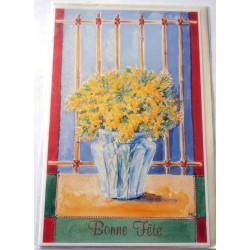 Carte postale neuve avec enveloppe bonne fête (lot 23.03)