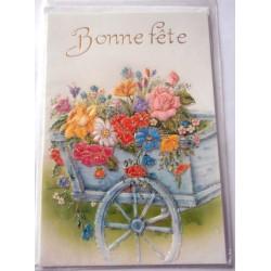Carte postale neuve avec enveloppe bonne fête (lot 23.06)