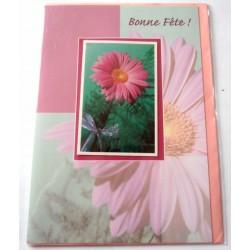 Carte postale neuve avec enveloppe bonne fête (lot 23.10)