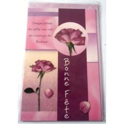Carte postale neuve avec enveloppe bonne fête (lot 23.12)