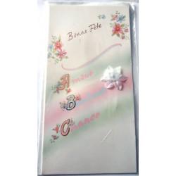 Carte postale neuve avec enveloppe bonne fête (lot 24.01)