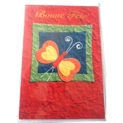 Carte postale neuve avec enveloppe bonne fête (lot 24.05)