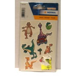 Planche de tatouages tatoo motifs enfants dinosaure - Produit neuf