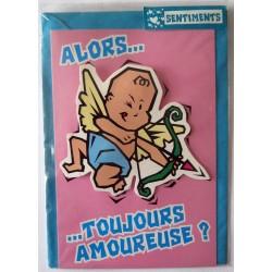 Carte postale neuve avec enveloppe sentiments amoureux saint valentin (03.03)