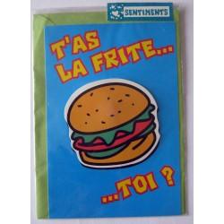 Carte postale neuve avec enveloppe sentiments amoureux saint valentin (04.01)