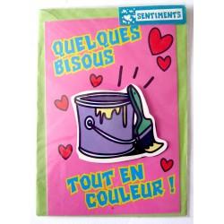 Carte postale neuve avec enveloppe sentiments amoureux saint valentin (08.04)