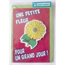 Carte postale neuve avec enveloppe sentiments amoureux saint valentin (08.07)